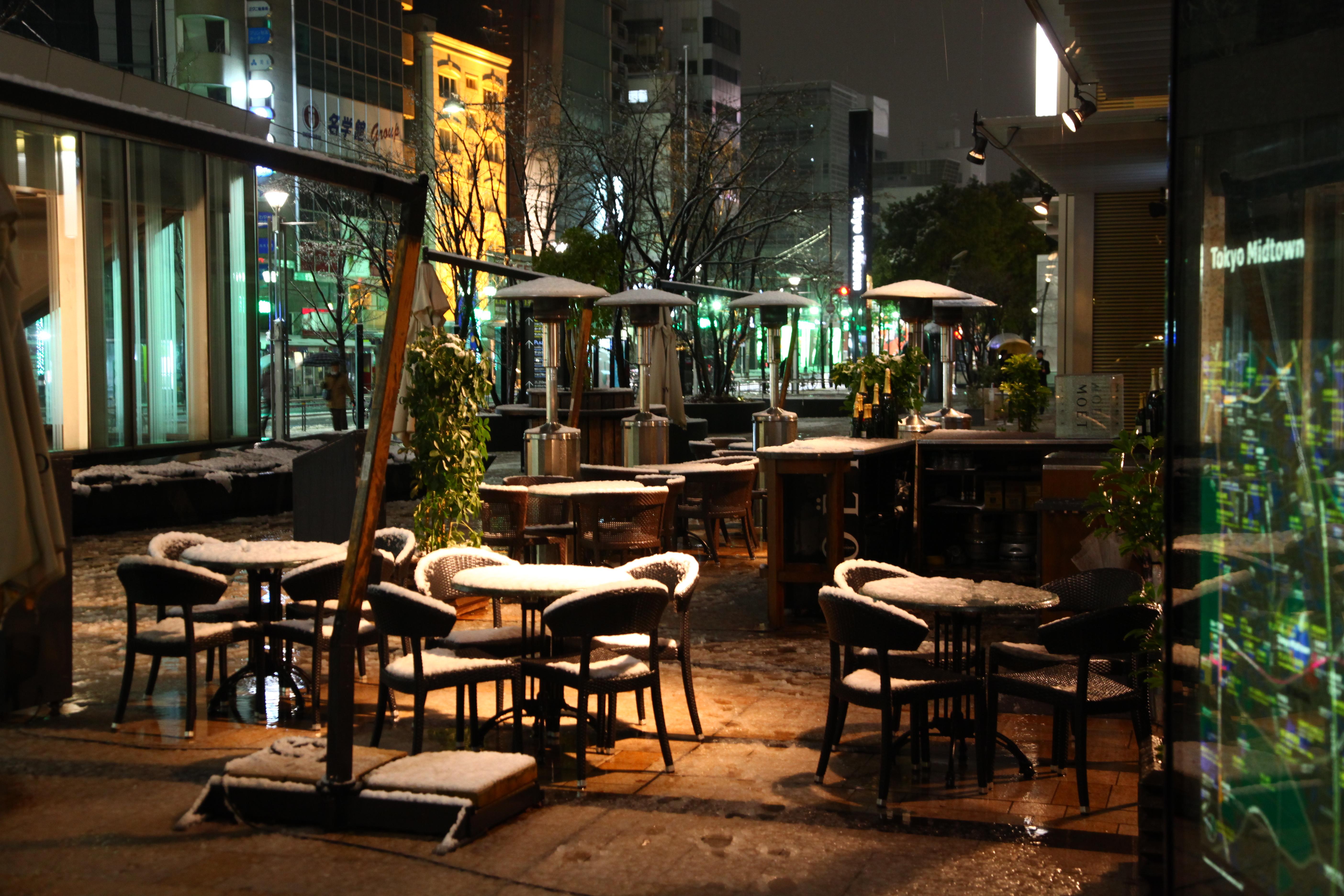 Outside Bar After The Snowstorm Shingopix